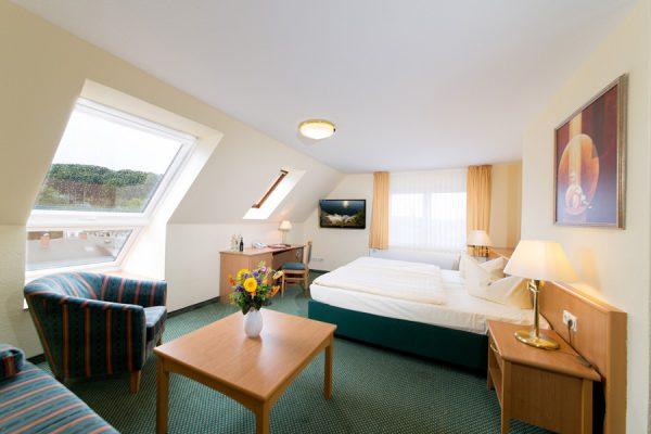 Komfort Doppelzimmer im Centralhotel in Binz auf Rügen – Ferienwohnung Rügen 2 Personen