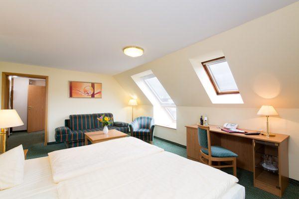 Komfort Doppelzimmer im Centralhotel Binz auf Rügen – Ferienwohnung Ostsee Meerblick