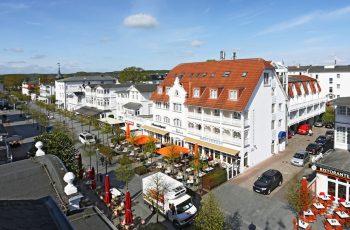 Centralhotel im Ostseebad Binz auf der Insel Rügen mit Restaurant plattdüütsch und Café
