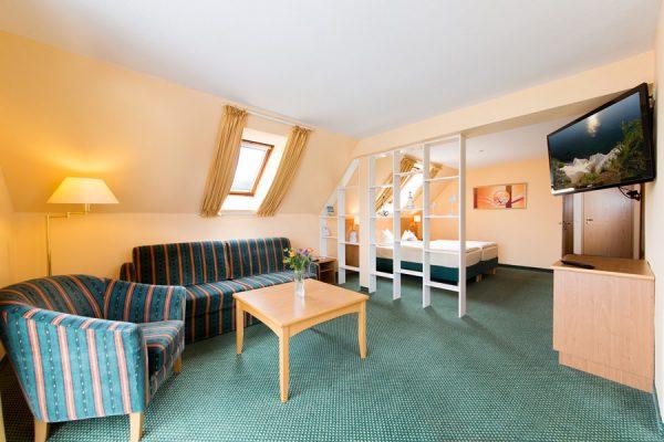 Juniorsuite Appartement im Centralhotel Binz auf der Insel Rügen – Hotel an der Ostsee günstig buchen