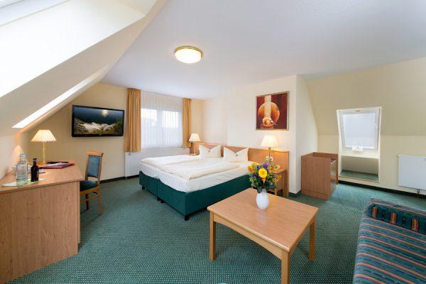 Komfort Doppelzimmer im Centralhotel Binz auf Rügen – 3 Sterne Hotel an der Ostsee
