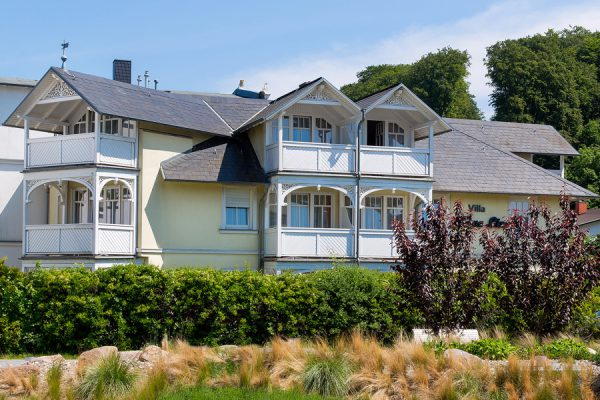 Hotel Rügen – Ferienwohnungen in der Villa Mona Lisa im Seebad Binz an der Hauptstraße
