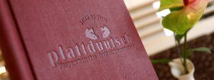 Restaurant auf Rügen – Speisekarte mit regionalen Spezialitäten im plattdüütsch vom Centralhotel Binz