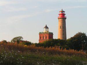 Familienurlaub an der Ostsee auf Rügen – wandern am Kap Arkona im Norden von Deutschlands größter Insel
