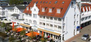 Centralhotel Binz auf der Insel Rügen an der Ostsee