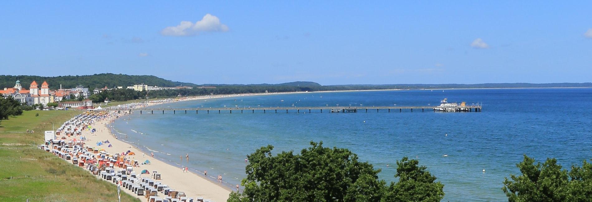 Urlaub im Ostseebad Binz auf Rügen buchen