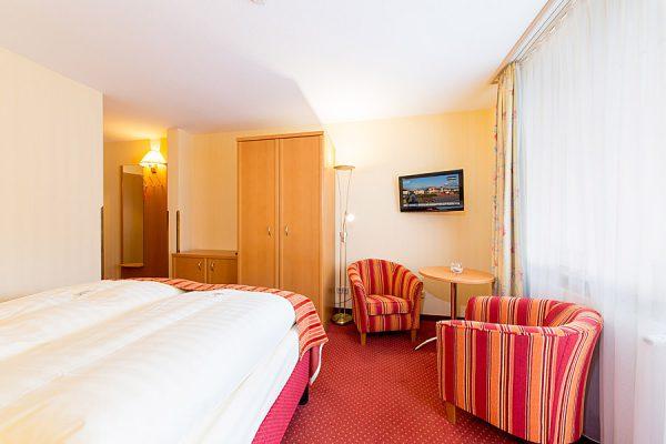 Ostseebad Binz auf der Insel Rügen – kleines Doppelzimmer vom Centralhotel