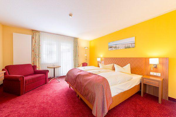 Centralhotel Binz an der Ostsee – Urlaub auf Rügen im Doppelzimmer mit Balkon des 3 Sterne Hotels