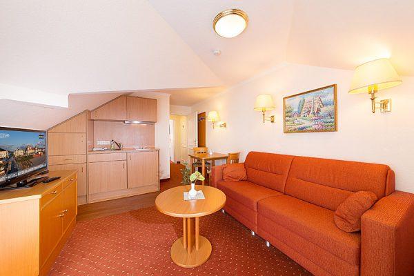Apartment in der Villa Mona Lisa – Zweiraumwohnung in Binz auf der Insel Rügen