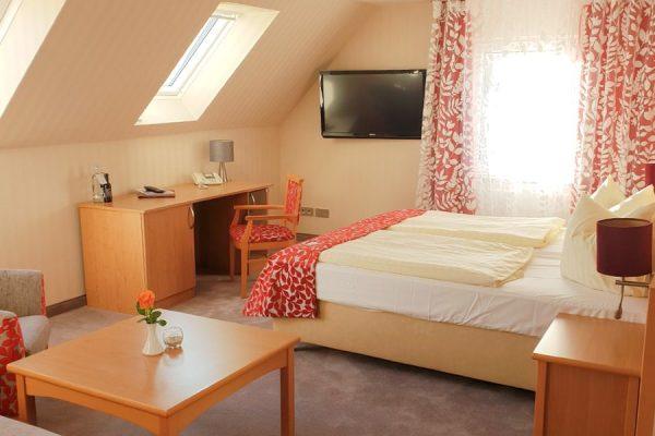Komfortdoppelzimmer im Centralhotel in Binz auf Rügen