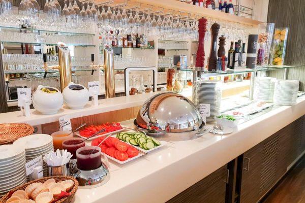 Frühstücksbuffet im Restaurant Plattdüütsch im Ostseebad Binz auf Rügen