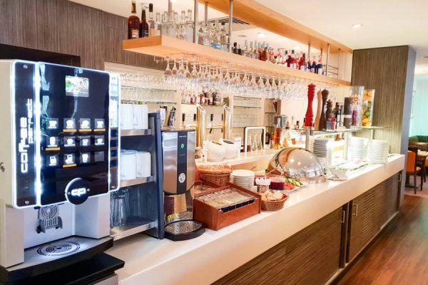 Buffet zum Frühstück im Restaurant Plattdüütsch im Ostseebad Binz auf Rügen