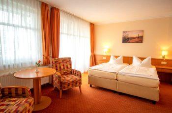 1-Raum-Appartement in der Villa Mona Lisa vom Centralhotel in Binz auf Rügen