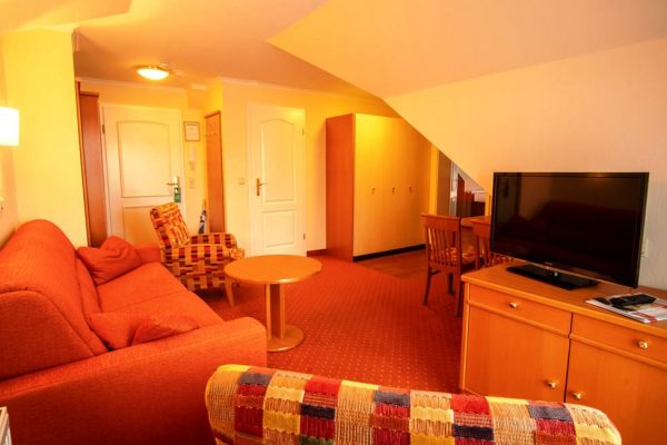 2-Raum-Apartment mit Badewanne in der Villa Mona Lisa vom Centralhotel in Binz auf Rügen