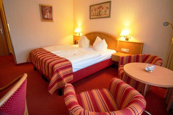 Doppelzimmer im Centralhotel Binz auf der Insel Rügen für den Urlaub an der Ostsee