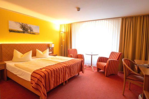 Doppelzimmer im Centralhotel Binz auf der Insel Rügen buchen für Urlaub an der Ostsee