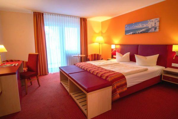 Doppelzimmer mit Balkon im Centralhotel Binz auf der Insel Rügen buchen