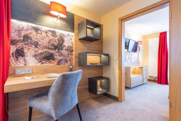 Moderne Unterkunft im Ostseebad Binz auf Rügen: Luxus-Suite vom Centralhotel