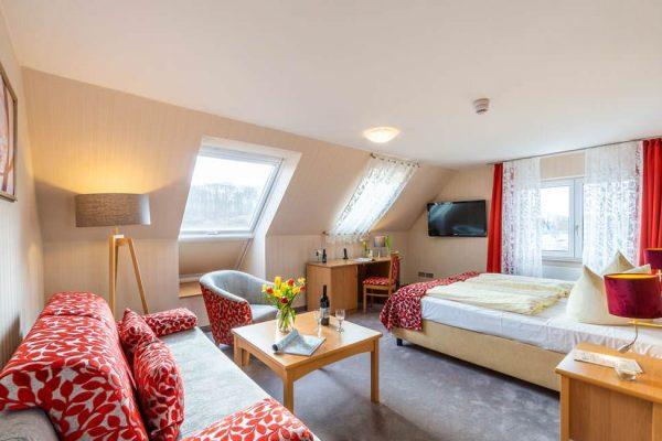 3-Sterne-Suite im Centralhotel Binz am Meer auf Rügen