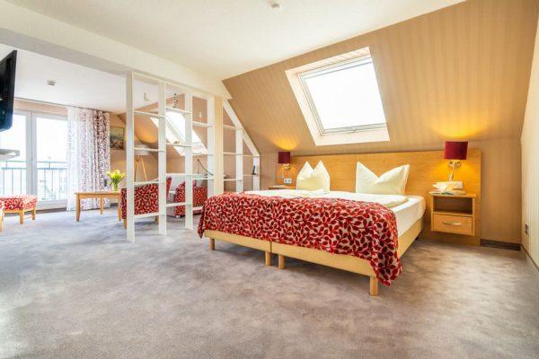 Juniorsuite vom Centralhotel Binz auf der Insel Rügen