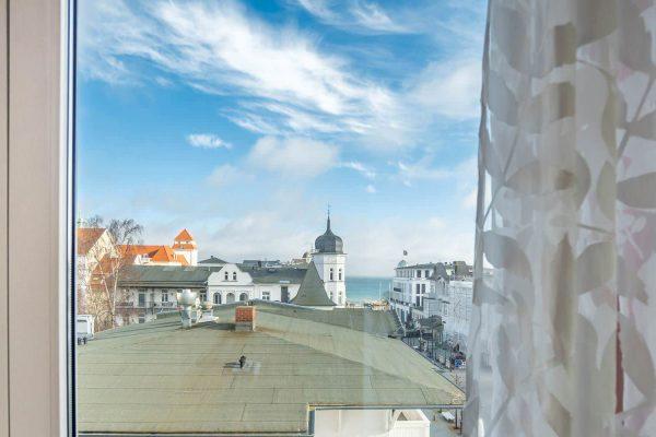 Urlaub mit Meerblick in der Suite im Centralhotel Binz auf der Insel Rügen